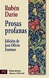 Prosas profanas (El Libro De Bolsillo - Literatura)