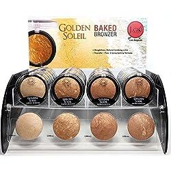 4pc Jcat Golden Soleil Baked Bronzer Compact set of 4 color GBB101-104 by JCat