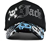 #9: FRIENDSKART Printed Half Net cap For In Baseball Style Printed Jack Boys And Girls Cap