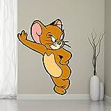 Esp Creation Cute Mouse Covering Area 60 X 45 Cms Multi Color Sticker