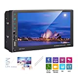 AMprime Double Din Car Radio Android 8.0 Stereo GPS Navigation 7 inch HD