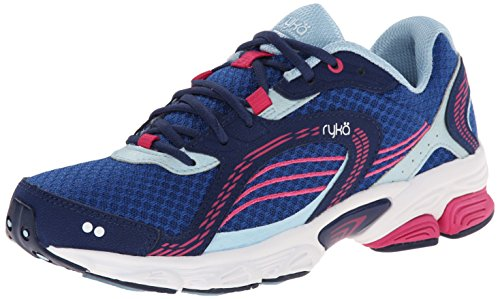 Ryka Ultimate Femmes Synthétique Chaussure de Course Navy-Pink
