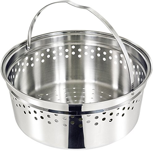 Magma Professional Series Nesting Stainless Steel Colander, Steamer, Crab and Pasta Cooker