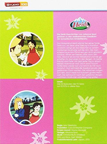 Heidi - TV-Serien Komplettbox [8 DVDs]: Alle Infos bei Amazon