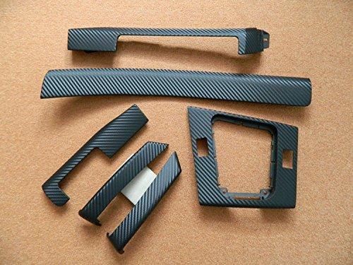 Dekorleisten Interieurleisten E46 Compact Carbon 3D Struktur Folien Set