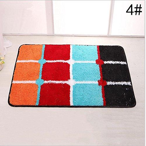GFYWZ Pad antiscivolo piedi, Zerbini, stuoie di portello di entrata, tappeto per la casa, tappetini , 4 , 50*80