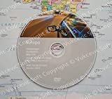 2018 RNS-510 Volkswagen Navigation Strassenkarten DVD Europa Central