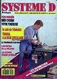 SYSTEME D [No 545] du 01/06/1991 - NOS ESSAIS - BIEN CHOISIR VOTRE TONDEUSE - LE COIN DE L'EBENISTE - TRAVAIL A LA SCIE CIRCULAIRE - LE TOURNAGE SUR BOIS - L'ENTRETIEN DE LA PELOUSE - LES STORES - A FAIRE - UN ETABLI - UN MINI-TOUR - UN SAC DE VOYAGE - LES BARBECUES.