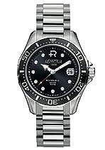 Roamer Herren-Armbanduhr Rockshell Mark III Analog automatik edelstahl silber 220633 41 55 20