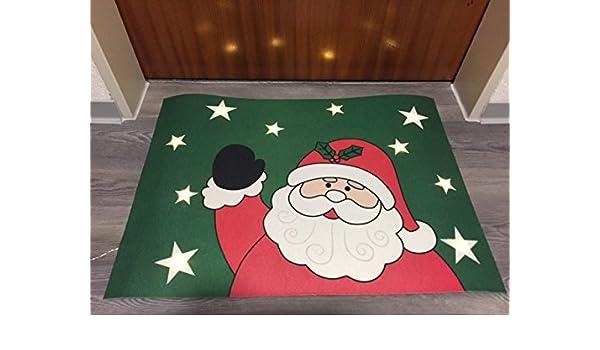 Weihnachtlicher Türvorleger LED Fußabtreter Weihnachten inkl