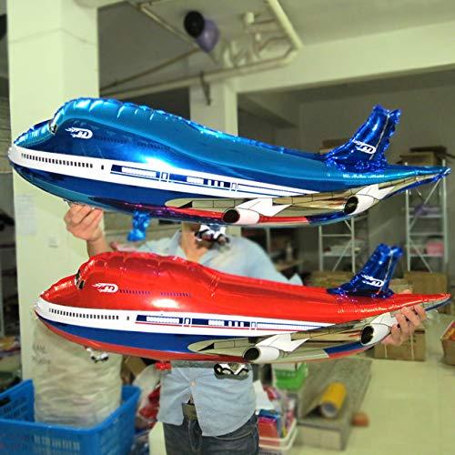 XuBa Übergroßen Airbus Modellierung Aluminium Ballons Geburtstag Urlaub Party Dekoration Ballon Spielzeug Jungen Geschenk Großhandel Blue (Urlaub Dekorationen Großhandel)