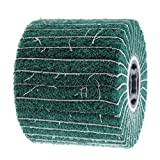 B Blesiya Polieren & Schwabbelscheiben Polierpad Schleifrad Lamellenrad-/Vlies-Schleifrad, für Edelstahl/Aluminium / Kupfer - 240#