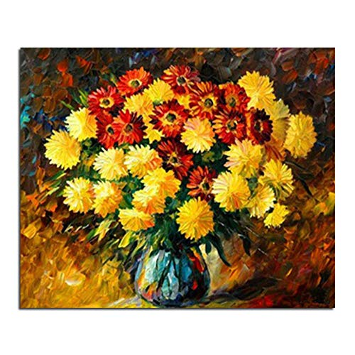 kupote i crisantemi fioriscono strass trapano fai-da-te incollato pittura a punto croce artigianato cucito disegno diamante