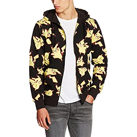 POKEMON Pikachu All Over Hoodie, Capucha Para Hombre