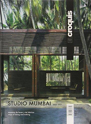 Studio Mumbai. Ediz. inglese e spagnola: Croquis 157 - studio mumbai 2003-2001 (Revista El Croquis)