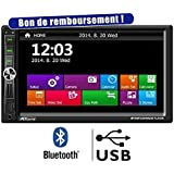 "TAKARA RDV1857BT Autoradio 7"" Bluetooth USB SD"
