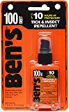 Adventure Medical Ben's 100 Max Deet Tick & Insect Repellent 1.25oz Pump Spray