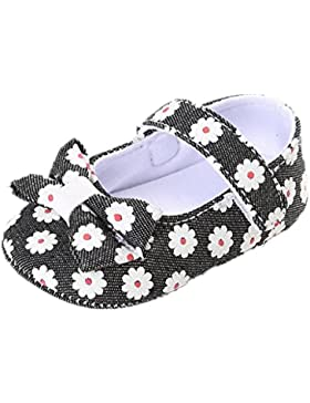 Zapatos de bebé,Auxma Princesa Zapatos Primeros zapatos para caminar Zapatos pediátricos del bebé Zapatos para...