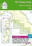 NV.Atlas Italy IT 2 - Elba to Naples | Seekarte Italien Papier & Digital [ NV Verlag / nv charts]