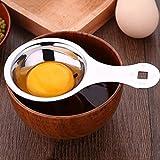 Cucchiaio di divisori per proteine separatore di tuorlo d'uovo in acciaio inox,