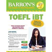 TOEFL Ibt 14th Ed w/audio CDs & CD-ROM (Barron's TOEFL IBT (W/CD))