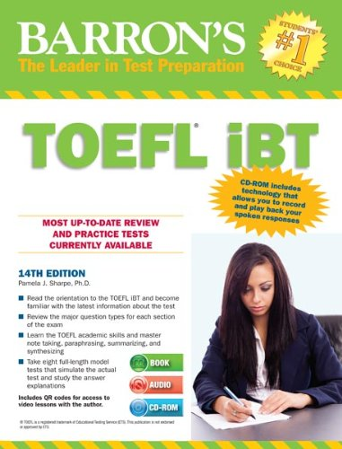 Barron's TOEFL iBT Internet-Based Test, w. CD-ROM (Barron's TOEFL IBT (W/CD))