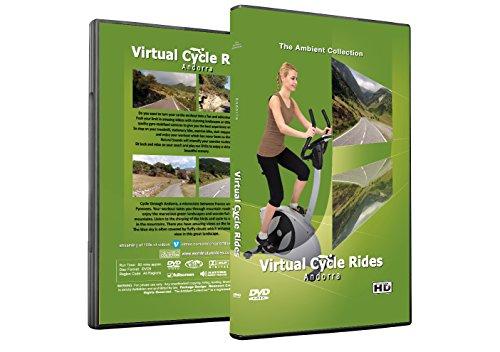 Virtuelle Fahrradtouren DVD - Andorra - für Indoor Radfahren, Laufband und Jogging Workouts