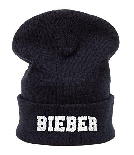 Garçon Fille Bonnet d'hiver Gâteau Style Meow , Swag chaud doublure polaire Enfants Chapeau MFAZ Morefaz Ltd (Black Bieber)