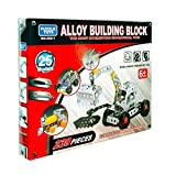 #10: Pepperonz 239 Pieces Metal Alloy Building Block 25 Different Models Interesting Puzzle Educational Toy