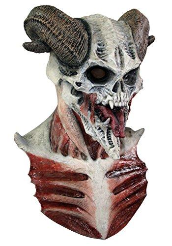 Devil skull mask Halloween (máscara/ careta)