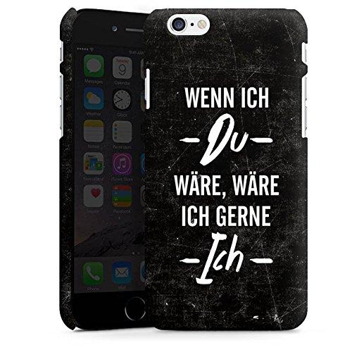 Apple iPhone X Silikon Hülle Case Schutzhülle Spruch Statement Humor Premium Case matt
