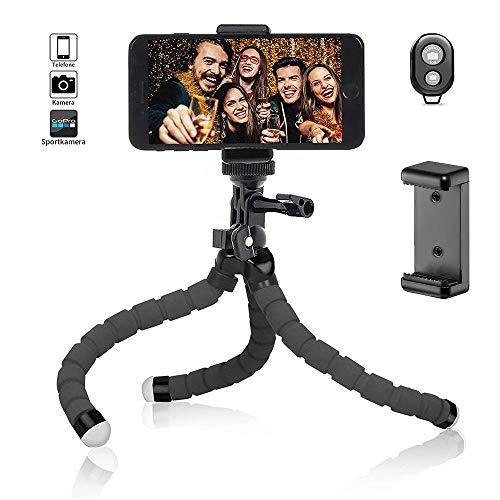 Handy Stativ Flexibel iPhone Stativ Halterung Kamera