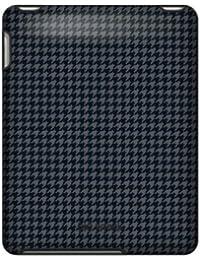 Speck Fitted Coque pour iPad TartanPlaid Fadeaway LightGray (Gris/Noir/Rose)