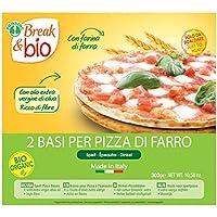 Probios Break&Bio Base Para Pizza de Espelta - 10 paquetes