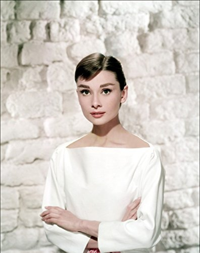 Audrey Hepburn Gloss foto stampata su carta