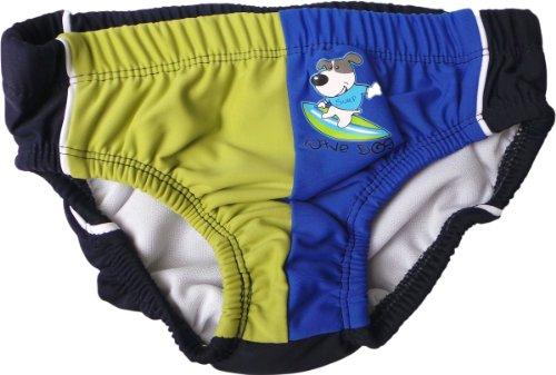 Schwimmwindel / Aquawindel - Wellenreiter - Blau/Olive/Mehrfarbig