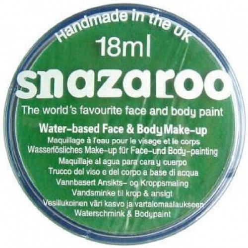Snazaroo 18ml Face Paint - Bright Green