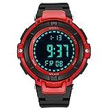 SPORTWATCHES Schöne Uhren, Unisex Quarz Sport Elektronische Uhr Männer Wasserdichte Gummi Uhr