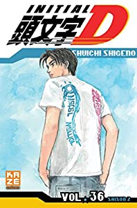 Initial D Edition simple Tome 36