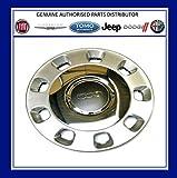PSA 50901871 Radzierblende für FIAT 500, Silberfarben und Chrom, 35,6 cm (14 Zoll)