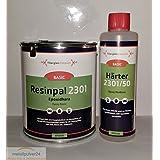 Resina epoxi 500g + Endurecedor 250g