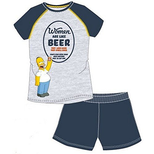 Pyjama Short Homer Simpson Small