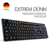 Mechanische Tastatur HAVIT Gaming tastatur mit RGB Hintergrundbeleuchtung
