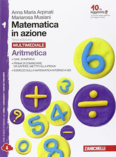 Matematica in azione. Vol 1: Aritmetica-Geometria. Con fascicolo di pronto soccorso. Per la Scuola media. Con e-book. Con espansione online: media. Con e-book. Con espansione online