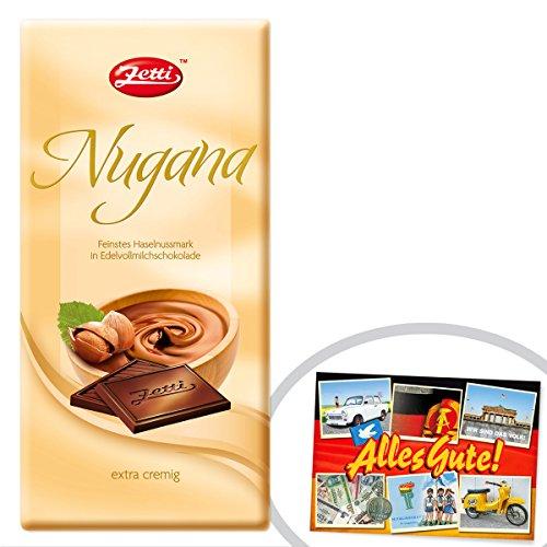 Preisvergleich Produktbild Zetti Nugana ++ DAS Ostprodukte Geschenk - DDR Traditionsprodukt und Ossi Kultprodukt - Geschenkidee für alle Ostalgiker aus Ostdeutschland vom Ostprodukte Experten - Ostpaket mit DDR Klassiker - Ideal für jedes DDR Geschenkset