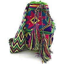 COLOMBIAN STYLE Bolsos Colombianos Artesanales de diseño unico, mochila Wayuu tanto para mujer como para
