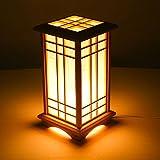 Style wei Ywyun Alto Brillo LED lámparas de bajo Consumo, lámparas de Estilo japonés de Madera,...