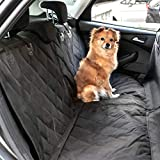 Heldenwerk® Autoschondecke Hund Rücksitz - Hundedecke für Auto Rückbank wasserdicht - Schutz Autodecke für Hunde mit Seitenschutz zum Hundetransport
