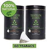 Teaonk Wa Oolong Nilgiri Oolong Tea, 60 bustine di tè
