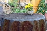 Hochwertige Tischdecken Farbe & Größe wählbar , Maße: 160x220 cm oval anthrazit-grau New York aus Deutscher Produktion